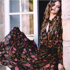 Spell and The Gypsy Etienne Noir Gown M
